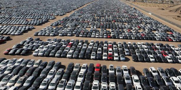 image: Se bildene: Her står VWs skandalebiler
