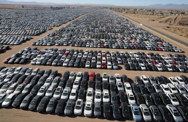 Enda heftigere: Her står VWs skandale-biler