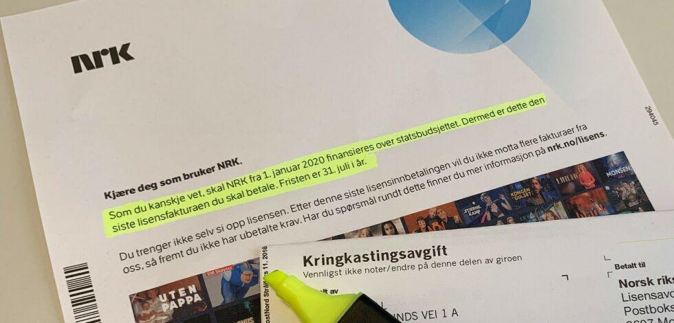 image: Snart er betalingsfristen for siste NRK-lisens