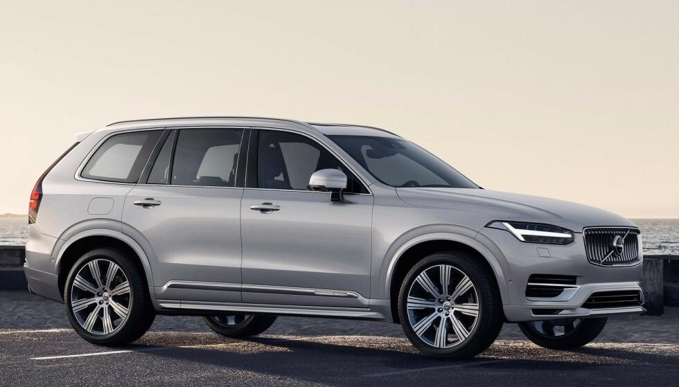STØRST TIL NÅ: Volvo XC90 er markedets største Volvo. Den blir oppgradert til versjonen på bildet i 2020. Mye tyder på at også en enda større XC100 snart vil bli lansert. Foto: Jamieson Pothecary