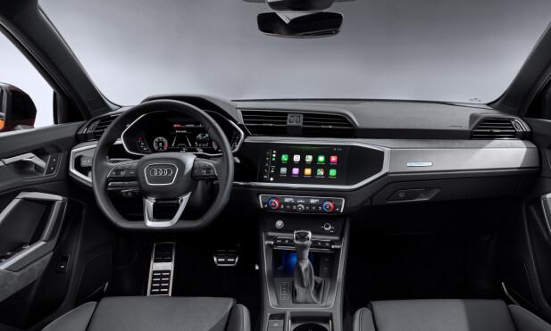 DIGITALT: Digitaliseringen går sin gang hos Audi - som var tidlig ute med sin virtuelle cockpit allerede i 2014. Foto: Audi