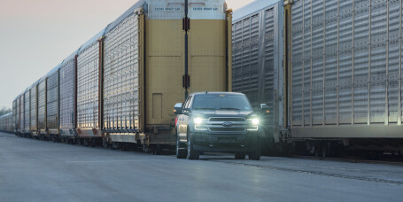 Elbilen trekker 450.000 kilo!