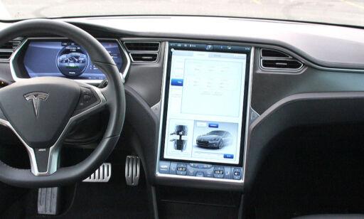 image: Elon Musk lover mer Tesla-moro