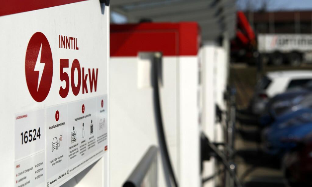 SAVNER ELBILLADING: Norsk elbilforening kritiserer regjeringen for manglende plan om utbygging av hurtigladere. Foto: Øystein Bergrud Fossum