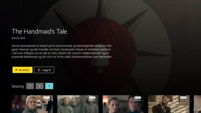 Har du HBO Nordic gjennom Get, får du tilgang til flere kritikerroste serier. Foto: Get