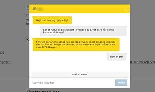 Ifølge Ikeas kundestøtte i Sverige, kommer ikke de smarte rullegardinene i salg før oktober. Trykk for full størrelse. Foto: Skjermdump