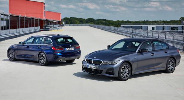 MED FIRE ELLER FEM: Også den ladbare kommer som stasjonsvogn. Vår test av BMW 3-serie Touring kommer for øvrig om ikke svært lenge. Foto: Daniel Kirchbauer