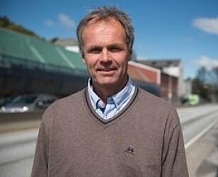 FRYKTER FLERE SKADER: Kommunikasjonssjef Bjarne Rysstad i Gjensidige. Foto: Gjensidige