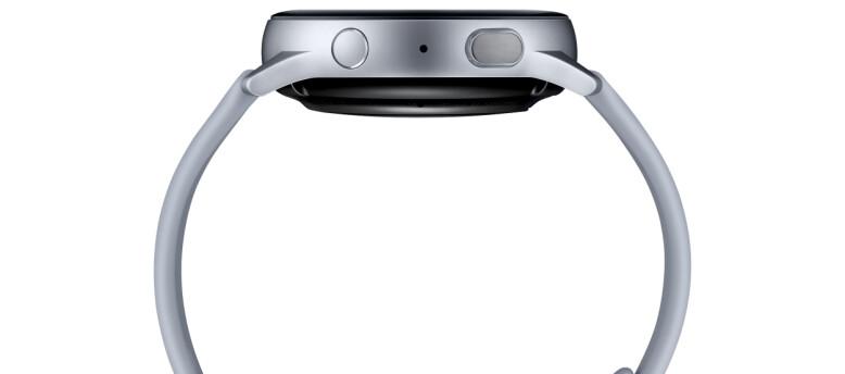 Galaxy Watch Active 2 blir tilgjengelig i både stål og aluminium. Foto: Samsung
