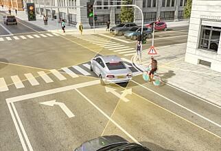 Slik vil Continental forhindre ulykker mellom bil og sykkel