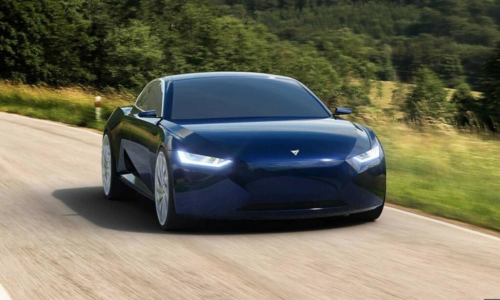 """ET EVENTYR?: Om Fresco Motors Reverie blir et norsk elbil-eventyr, eller om prosjektet """"fordamper"""" før biler kommer på veien, gjenstår å se. Foreløpig finnes ingen prototype. Bilde: Fresco Motors"""