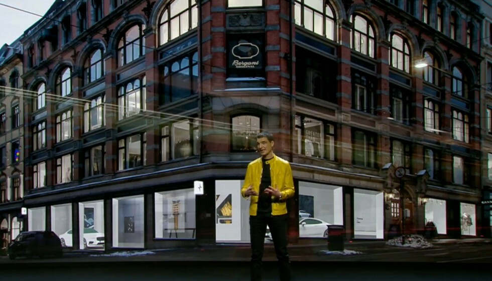 POLESTAR I OSLO: I en av Oslos fasjonable handlegater åpner verdens første Polestar Place i september. Thomas Ingenlath er sjefen og mener Oslo var et naturlig valg, siden nordmenn kjøper flere elbiler enn noen andre. Foto: Polestar