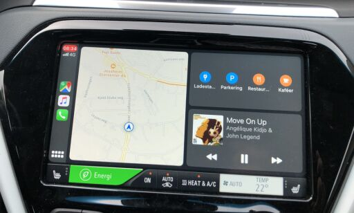 image: Test av nye Apple CarPlay