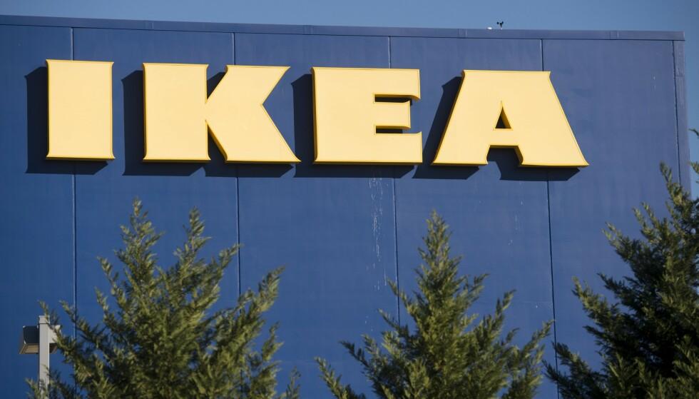 MISBRUKT: På nettsiden sin advarer varehuset Ikea om at det er svindel-konkurranser i omløp på flere plattformer, hvor merkevaren deres blir misbrukt. Foto: Saul Loeb/AFP/NTB Scanpix.