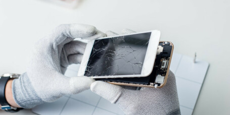 Knust mobilglass kan bli historie