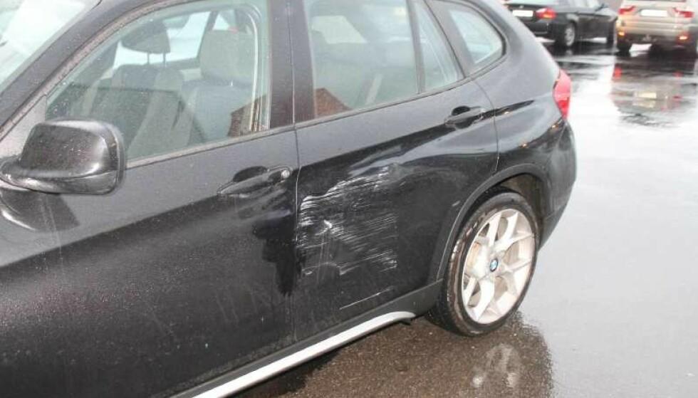BULKET FOR 1,4 MILLIARD: Sen oversikt fra forsikringsselskapene viste typiske parkeringsskader for over en milliard kroner i året. Foto:If