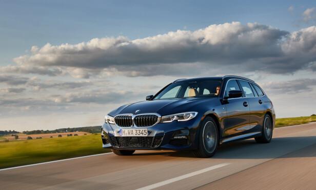 KJØREMASKINEN: Mer som enn BMW skal være, enn forgjengeren var. Foto: Fabian Kirchbauer