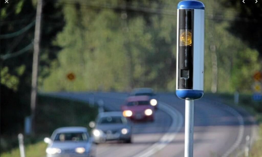 1600 FOTOBOKSER: Det kryr av fotobokser på svenske veier. Nå settes det opp enda flere. Foto: Trafikverket