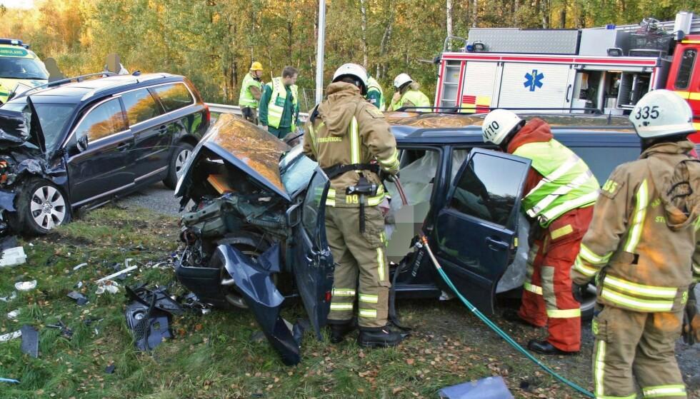 FLERE DREPTE: Antall drepte på svenske veier økte kraftig i fjor. Foto: Volvo