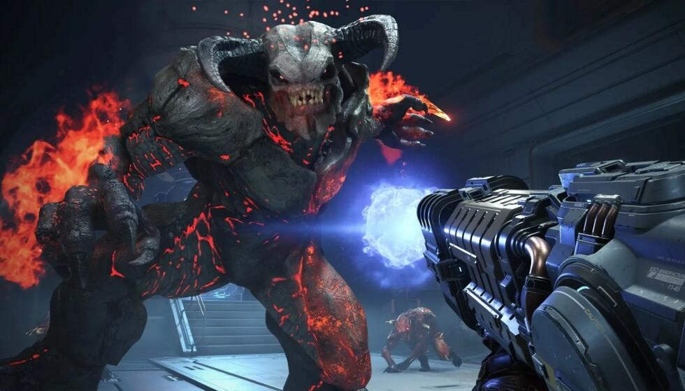 Glad i å knerte monstre? Da får du sjansen på ny i «Doom Eternal». Foto: Bethesda