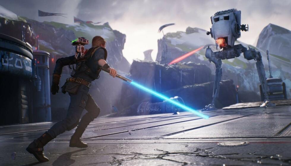 Frem med lyssverdet – snart kommer lovende «Star Wars Jedi: Fallen Order». Foto: Electronic Arts