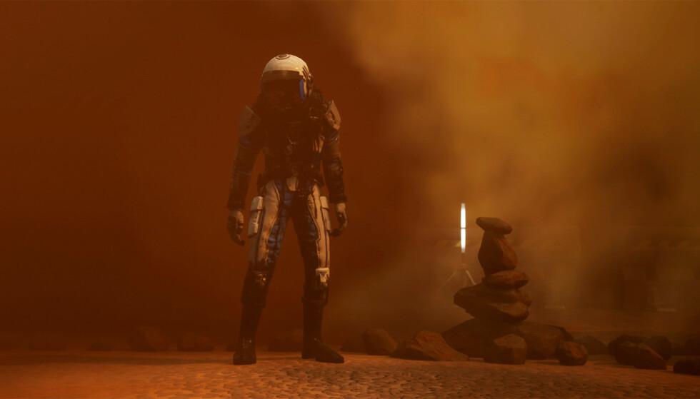 Norske Rock Pocket Games tar oss med på utforsking av Mars i «Moons of Madness». Foto: Funcom