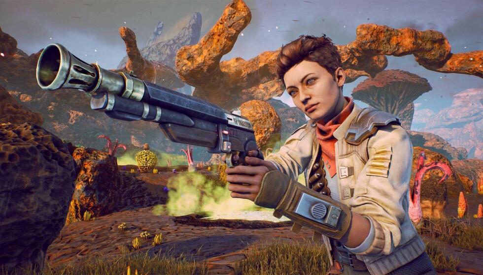 «The Outer Worlds» lanseres til PC, PlayStation 4 og Xbox One i slutten av oktober. Foto: Private Division