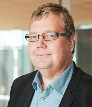 Åge-Christoffer Lundeby, pressesjef i Vy. Foto: Vy