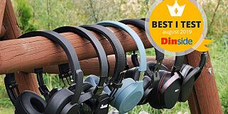 image: TEST: De beste billige hodetelefonene