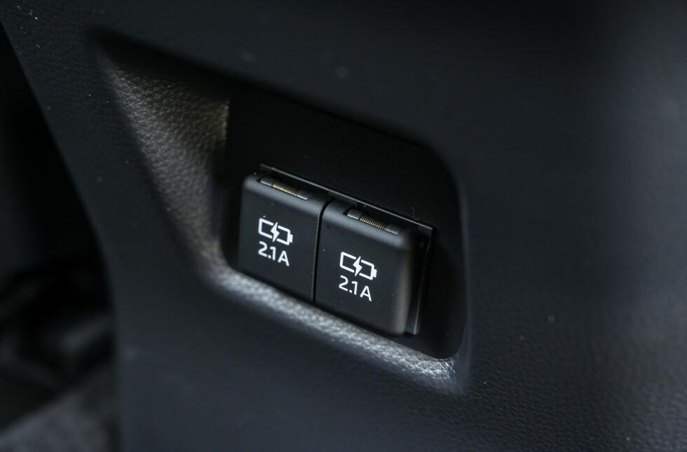 STRØM: USB til barna er viktigere enn noen gang. Foto: Jamieson Pothecary