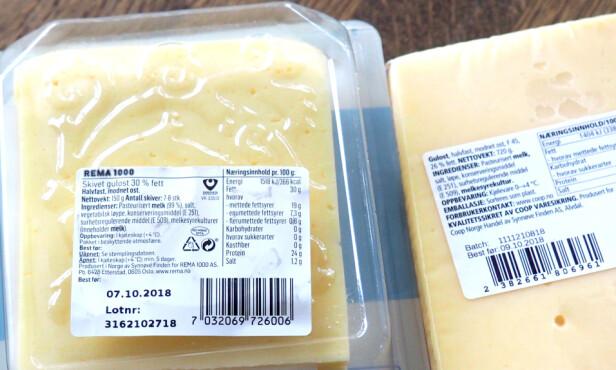SJEKK PRODUSENTEN: Synnøve Finden er produsent både for egen merkevare og for Remas «Prima»-ost. Foto: Kristin Sørdal