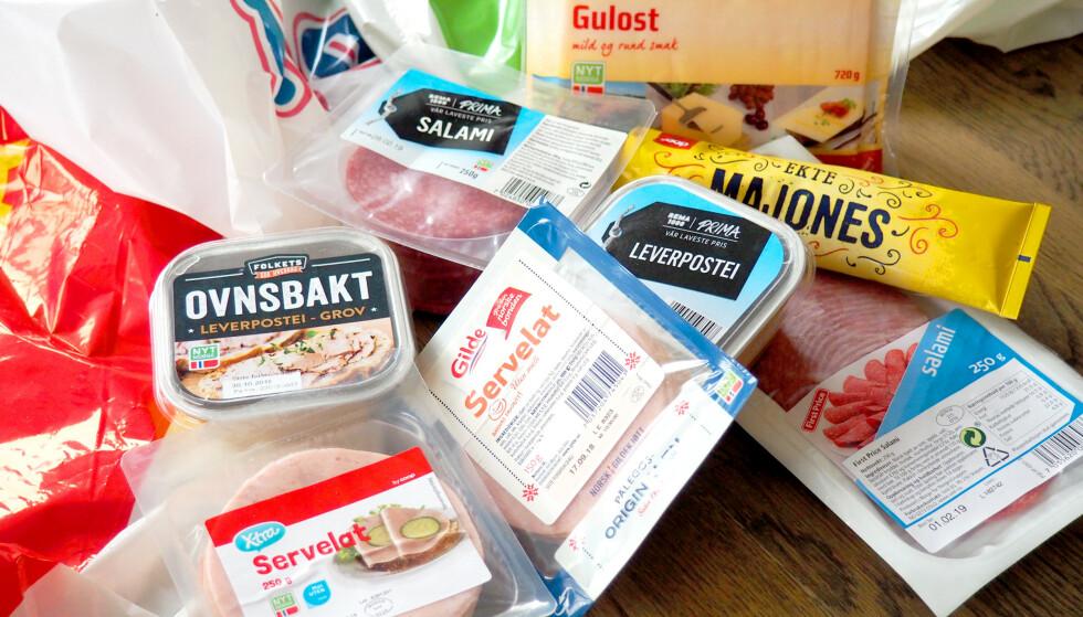 ØKER: Norske matpriser øker mest i Norden, men du kan fremdeles kutte matbudsjettet ganske mye ved smarte valg - som å velge butikkenes egne merkevarer i stedet for merkevarene. Foto: Kristin Sørdal