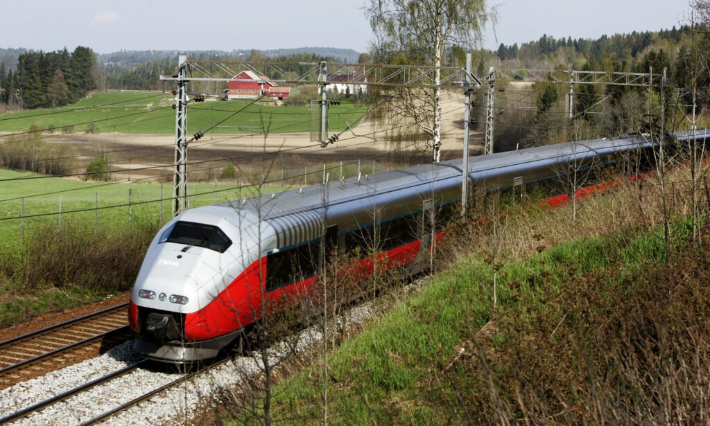 MISFORNØYDE: Norske passasjerer ønsker et bedre togtilbud som også er tilknyttet resten av Europa. Foto: Cornelius Poppe/NTB Scanpix