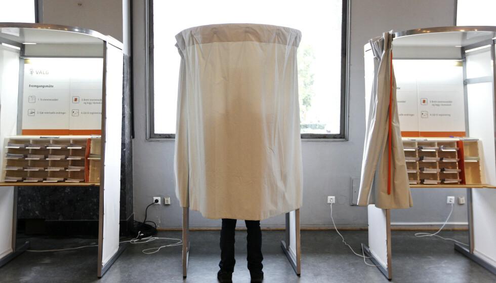 FORHÅNDSSTEMME? Se hva du må vite om du vurderer å forhåndsstemme ved årets valg. Illustrasjonsfoto: NTB Scanpix