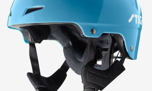 image: - Velg hjelm med grønn spenne