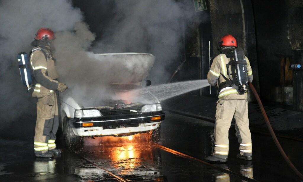 FARLIG: Tunneler er kritiske for ulykker og brann. Foto: Dinside.