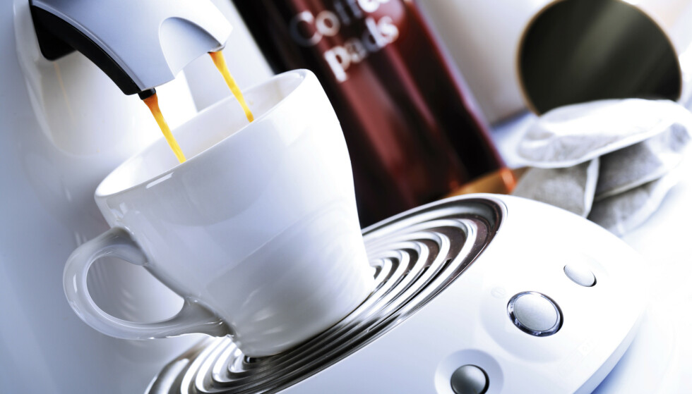 FØRST UTE: Kaffekapselmaskina er den første maskina som tar kvelden på kjøkkenet ditt, skal vi tro en undersøkelse fra britiske Which. Foto: Shutterstock/NTB scanpix
