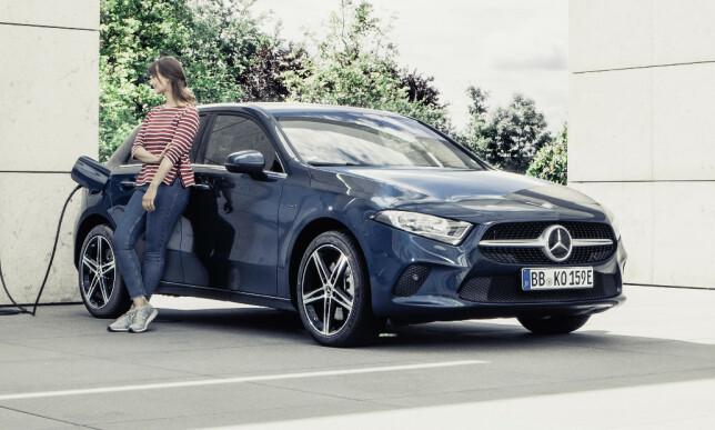 REN KJØRING: Med lang rekkevidde regner Mercedes-Benz Norge med høyt salg av A-Klasse. Foto: Mercedes-Benz.