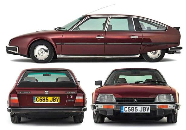 <strong>TIDLØS:</strong> CX holdt  stilen gjennomført. Foto: Citroën
