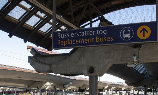 image: Over 2000 innstilte tog - på to uker