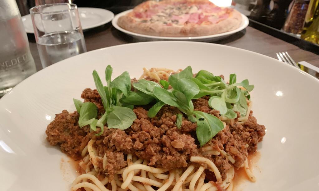 Du får bedre spaghetti hjemme. Foto: Berit B. Njarga