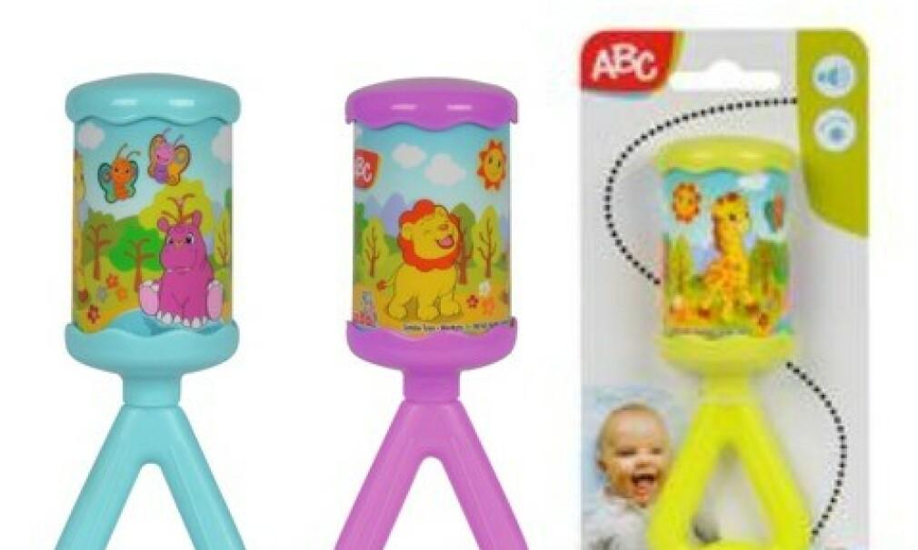 FARLIG: Denne ranglene blir tilbakekalt av Coop på grunn av fare for småbarn. Foto: Coop.
