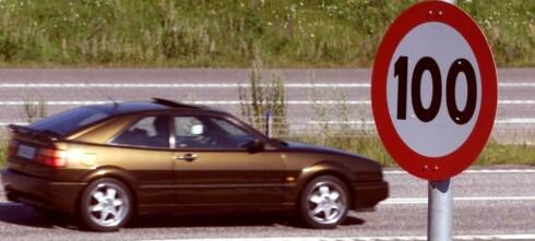 Her vil de øke fartsgrensene