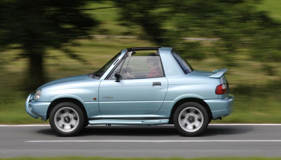 SUZUKI: Bilen var ubrukbar til det meste. Foto: Suzuki