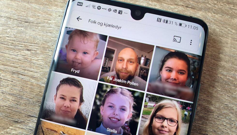 REN MAGI: Googles ansiktsgjenkjenning er noe av det mest imponerende vi vet om. Nå kommer den endelig til Norge. Foto: Pål Joakim Pollen