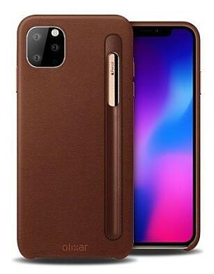 MINDRE PENN: Stemmer dette bildet, vil nye iPhone 11 Pro kunne brukes med en ny og mindre Apple Pencil. Foto: Olixar/MobileFun