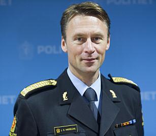 I KAMP MOT RÅKJØRING: UP-sjef Steven Hasseldal får nå alle tilgjengelige patruljer tilbake i tjeneste. Foto: NTB scanpix