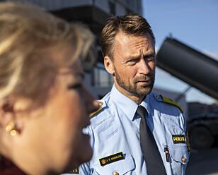 PÅ PLASS I SOMMER: UP-sjef Steven Hasseldal og hans etat er klare til å kontrollere norske veier denne sommeren. Foto: NTB Scanpix
