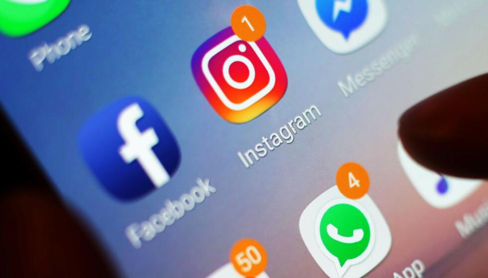 TESTER NY APP: Instagram holder angivelig på å teste en ny meldingsapp kalt Threads for privat deling med venner. Foto: Yui Mok/Pa Photos/NTB Scanpix