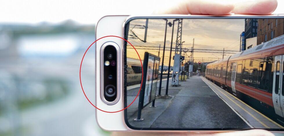 image: Finurlig mobil fra Samsung
